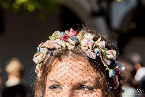 diadema de flores para bodas  con imágenes    Diadema de ...