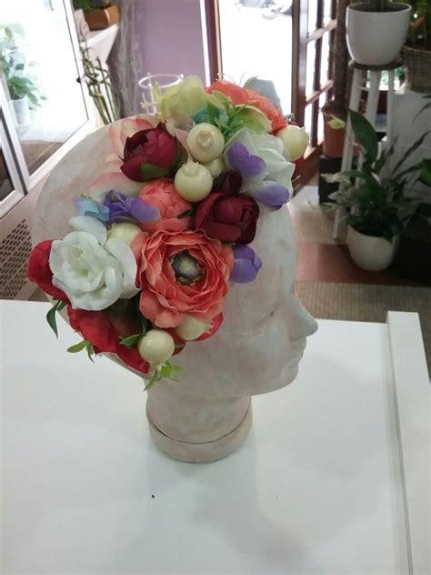 Diademas de flores# diademas para bodas#coronitas .  con ...