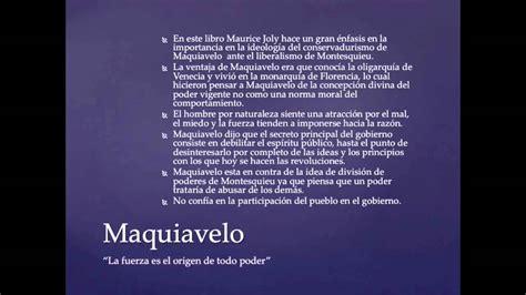 Dialogos en el infierno entre Maquiavelo y Montesquieu ...