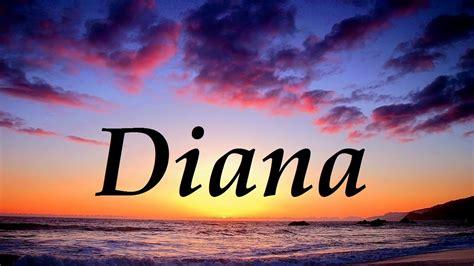 Diana, significado y origen del nombre   YouTube