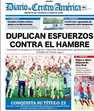 Diario de Centro América 18 de mayo de 2015 by Diario de ...