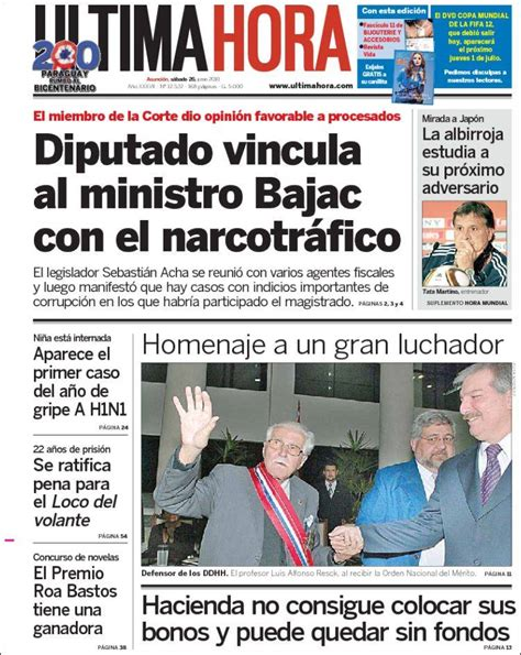 Diario De Paraguay Ultima Hora   SEONegativo.com