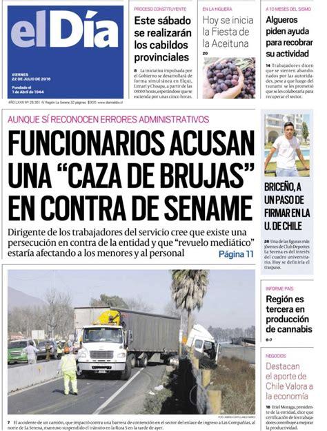 Diario El Día 22 07 2016 | Diario El Día11975