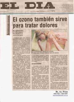 DIARIO   EL DIA   de LA PLATA   OzonoTerapia