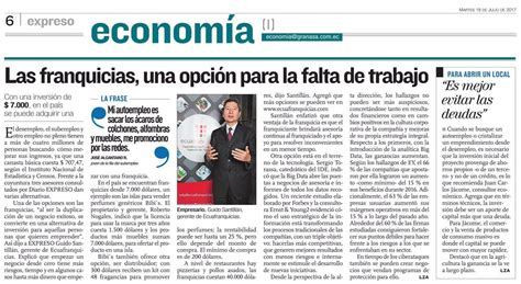 Diario Expreso   Ecuafranquicias