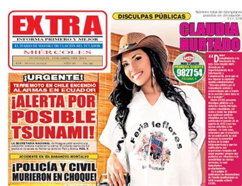 Diario Extra se disculpa por Lunes Sexy | La República EC