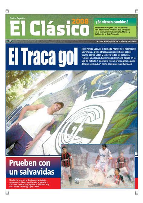 Diario Hoy La Plata   El Clasico 30 de Noviembre 2008 by ...