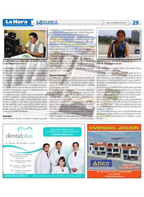 Diario La Hora Loja 1 de agosto 2011 by Diario La Hora ...