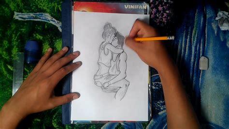 Dibujando a una pareja  Dibujos con lápiz   YouTube
