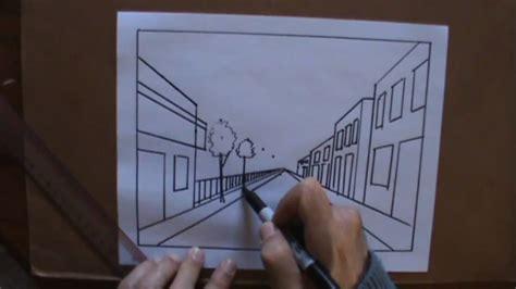 Dibujar perspectiva 1 con pluma clases de arte   YouTube