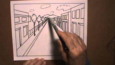 Dibujar perspectiva 2 con pluma clases de arte   YouTube