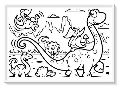 dibujar y pintar dinosaurios  Biblioteca de imágenes online