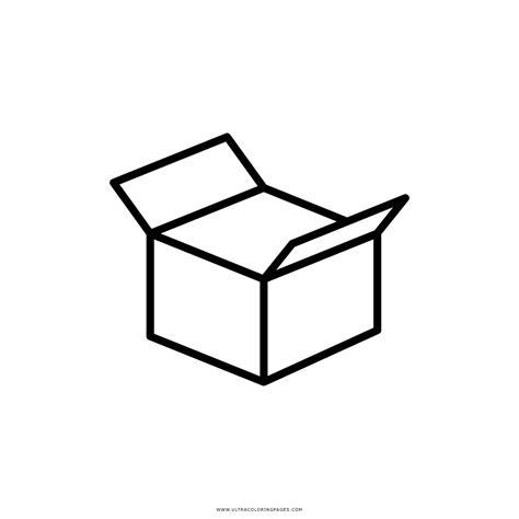 Dibujo De Abrir Caja Para Colorear   Ultra Coloring Pages