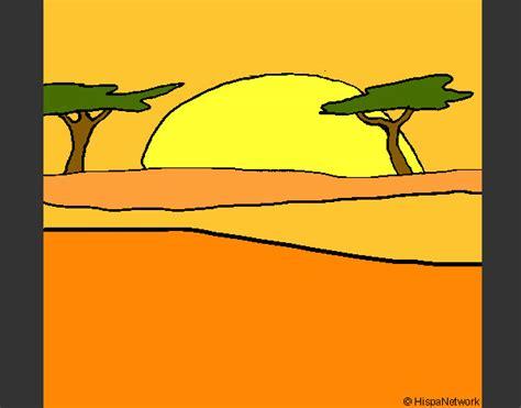 Dibujo de Amanecer pintado por Cleoh2o en Dibujos.net el ...