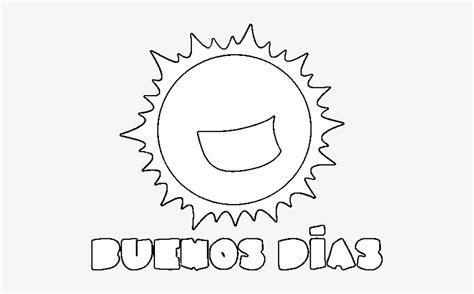 Dibujo De Buenos Días Para Colorear   Para Dibujos De Los ...