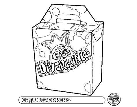 Dibujo de Caja Diverking para Colorear   Dibujos.net