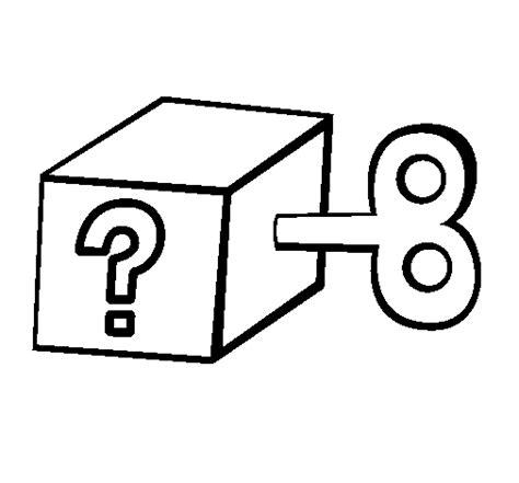 Dibujo de Caja sorpresa para Colorear   Dibujos.net