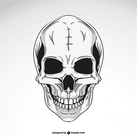 Dibujo de calavera | Descargar Vectores gratis