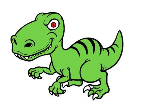 Dibujo de Dinosaurio velociraptor pintado por en Dibujos ...