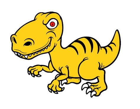Dibujo de Dinosaurio velociraptor pintado por Lucastube en ...