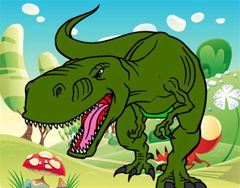 Dibujo de dinosauritoooooooo pintado por Yamili en Dibujos ...