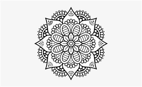 Dibujo De Mandala Flor De Primavera Para Colorear ...