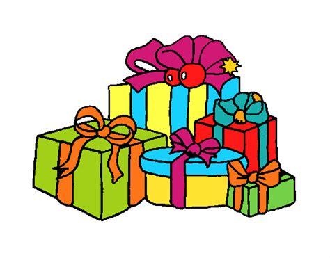 Dibujo de Muchos regalos 2 pintado por en Dibujos.net el ...