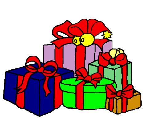 Dibujo de Muchos regalos pintado por Regalos en Dibujos ...