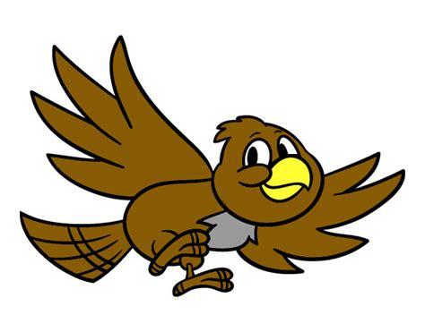 Dibujo de Pájaro volando pintado por Gatito177 en Dibujos ...