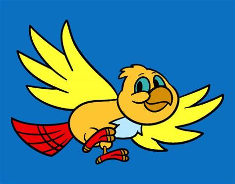 Dibujo de Pájaro volando pintado por Julieta202 en Dibujos ...