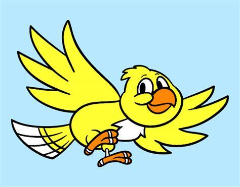 Dibujo de Pájaro volando pintado por Lamorales en Dibujos ...