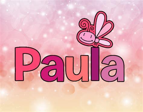 Dibujo de Paula pintado por en Dibujos.net el día 19 07 18 ...