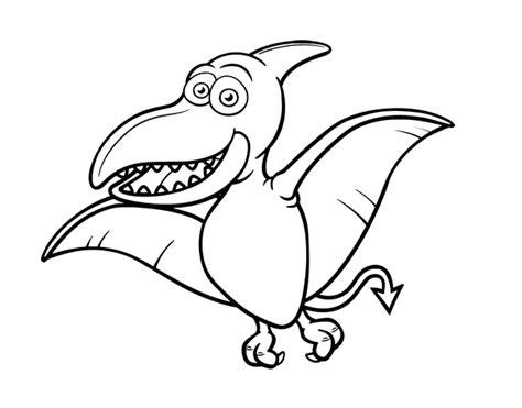 Dibujo de Pterosaurio para Colorear   Dibujos.net