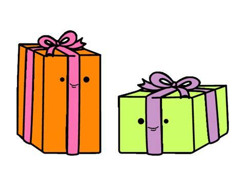 Dibujo de regalos de amiel pintado por Cokie en Dibujos ...
