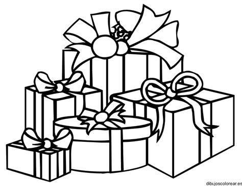 Dibujo de regalos variados