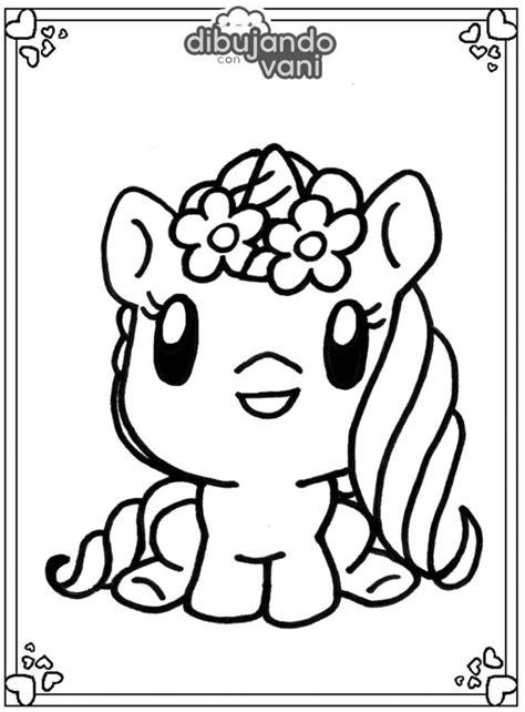 Dibujo de un unicornio 2 para imprimir y colorear ...