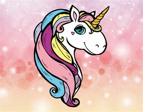 Dibujo de Un unicornio pintado por Lizpr en Dibujos.net el ...
