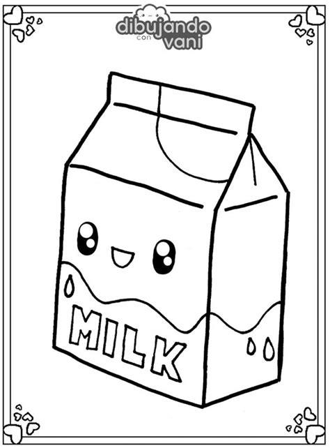 Dibujo de una caja de leche para imprimir y colorear ...