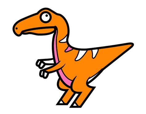 Dibujo de Velociraptor bebé pintado por Lunapyok en ...