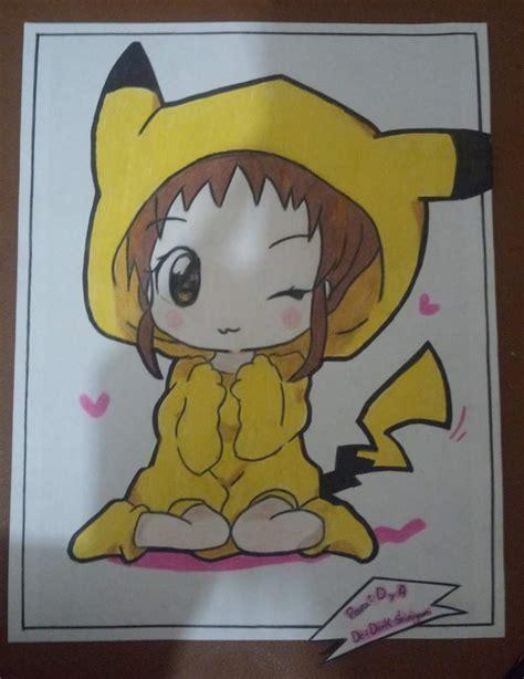 Dibujo kawaii terminado!!   •Dibujos y Animes• Amino
