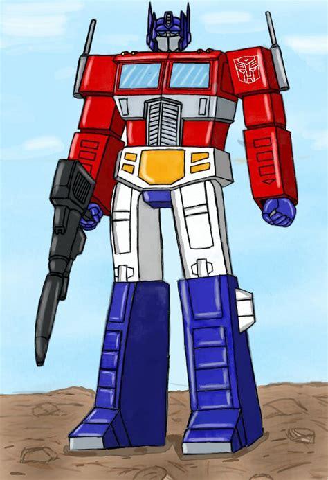Dibujo Optimus Prime G1   Transformers Amino en Español Amino