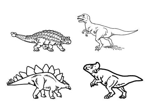 Dibujo para colorear Dinosaurios   Img 9101