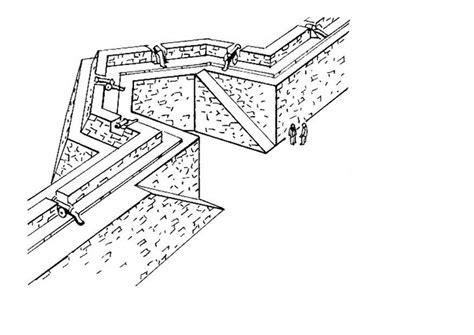 Dibujo para colorear muro de ciudad   fortaleza   Dibujos ...