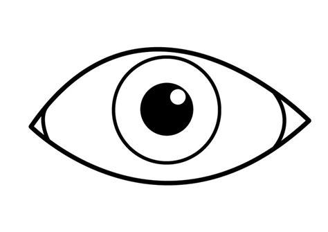 Dibujo para colorear ojo   Dibujos Para Imprimir Gratis