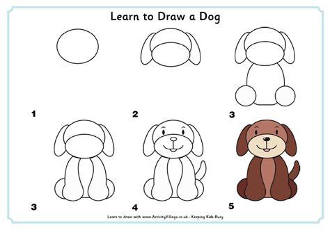 Dibujo perro facil   Imagui
