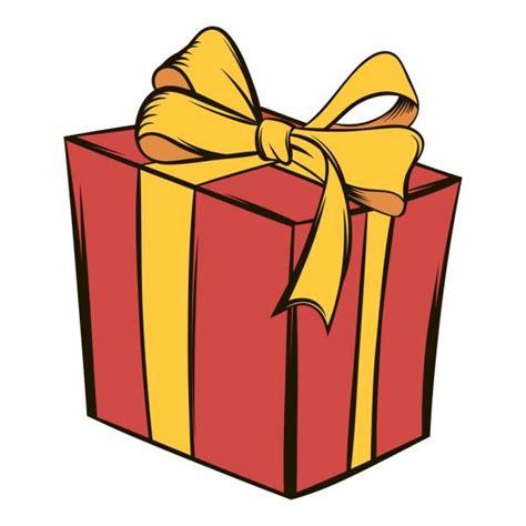Dibujo regalo rojo   Caja de regalo amarilla con un dibujo ...