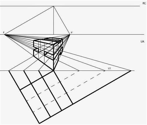 Dibujo Técnico: Volumen Perspectiva Cónica