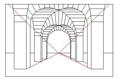 Dibujo Tecnico y Perspectiva: Puntos De Fuga Definidos
