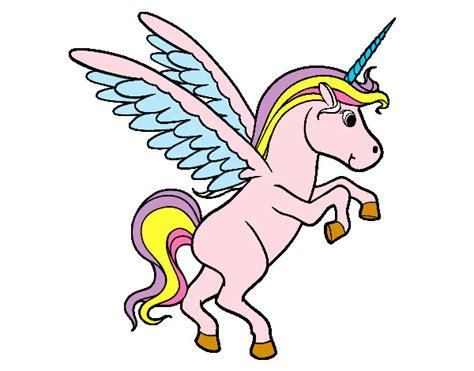 Dibujo unicornio infantil   Imagui