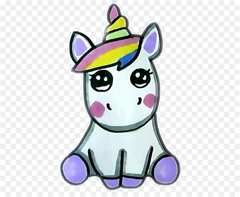 Dibujo, Unicornio, Kawaii imagen png   imagen transparente ...